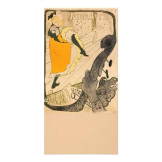 Jane Avril by Henri de Toulouse-Lautrec Picture Card