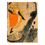 Jane Avril by Toulouse-Lautrec Post Card
