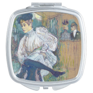 Jane Avril  Dancing, c.1892 Compact Mirrors