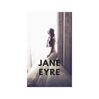 Jane Eyre Canvas on wall (Classic Edition)