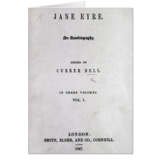 Jane Eyre' Card