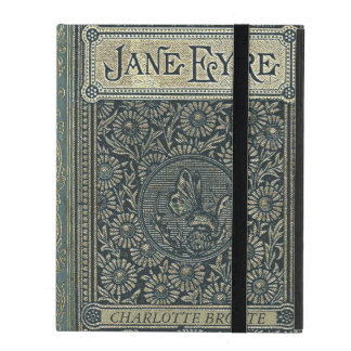 Jane Eyre Charlotte Bronte Old Book Cover iPad Folio Cover