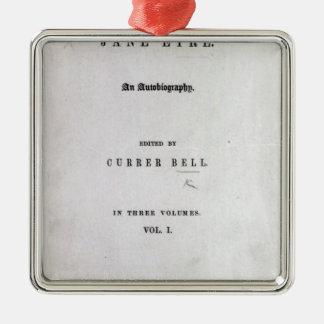 Jane Eyre' Christmas Ornament