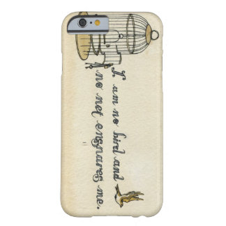 Jane Eyre quote case Barely There iPhone 6 Case