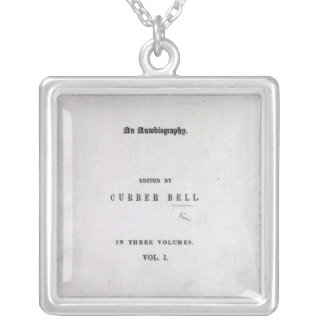 Jane Eyre' Silver Plated Necklace
