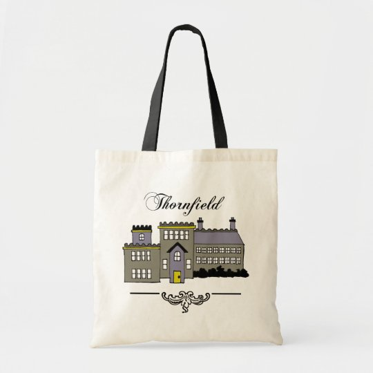 Jane Eyre Thornfield Hall Tote Bag