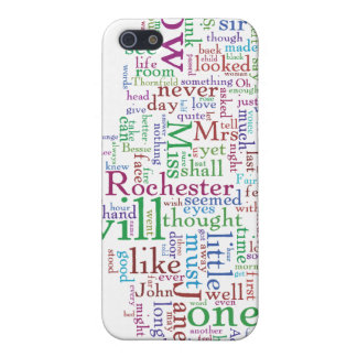 Jane Eyre Word Cloud iPhone 5 Cover
