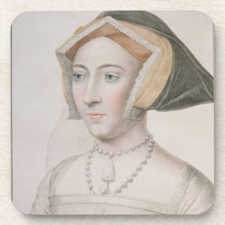Jane Seymour (c.1509-37) engraved by Francesco Bar Coasters
