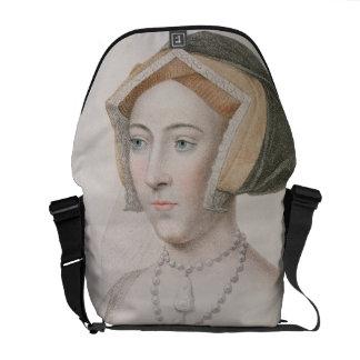 Jane Seymour (c.1509-37) engraved by Francesco Bar Messenger Bag