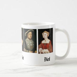 Jane Seymour, Catherine of Aragon, Anne Boleyn,... Mug