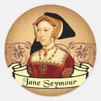Jane Seymour Classic Classic Round Sticker