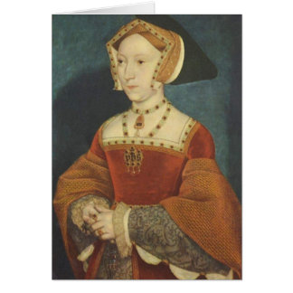 Jane Seymour Greeting Card