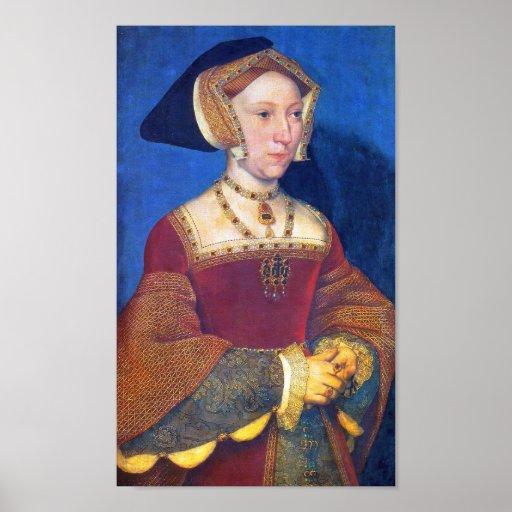 Jane Seymour  Queen of England Print