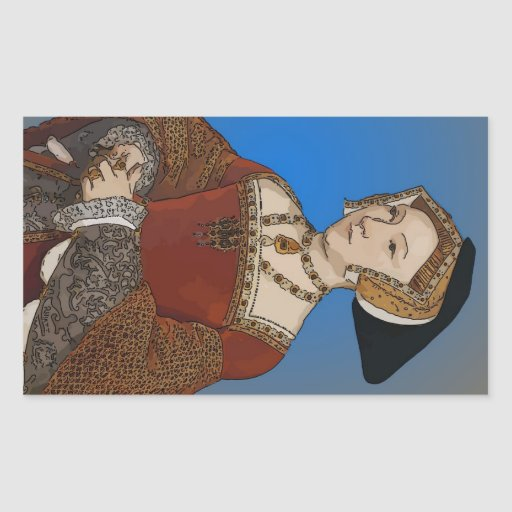 Jane Seymour Queen of Henry VIII Of England Rectangle Stickers