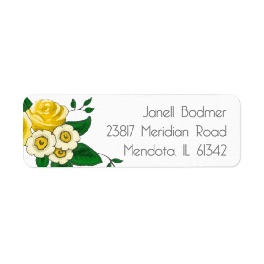 Janell Return Address Labels