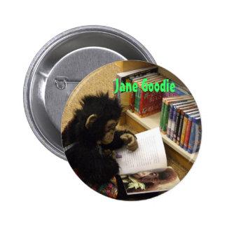 jane's everywhere 013, Jane Goodie 6 Cm Round Badge
