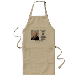 Janet Yellen Admirers Capitalism Govt Intervention Long Apron