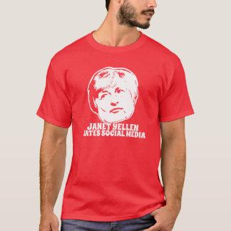 Janet Yellen Hates Social Media T-Shirt