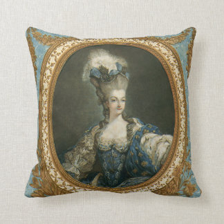 Janinet Portrait of Marie-Antoinette Fine Art Cushion