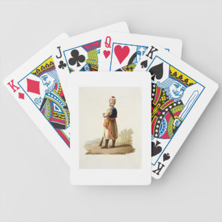 Janissary, from 'Costumes of the Various Nations', Bicycle Playing Cards