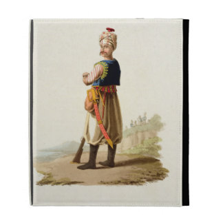 Janissary, from 'Costumes of the Various Nations', iPad Folio Cover