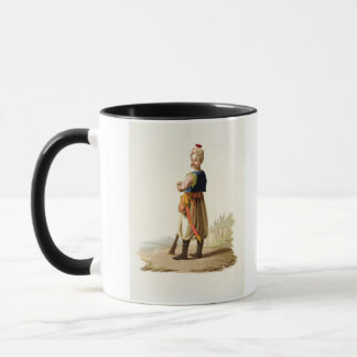 Janissary, from 'Costumes of the Various Nations', Mug