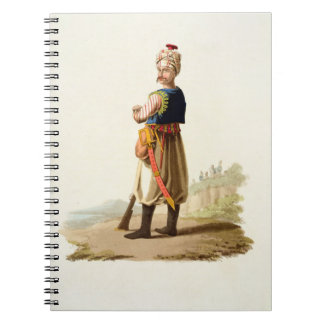 Janissary, from 'Costumes of the Various Nations', Notebook