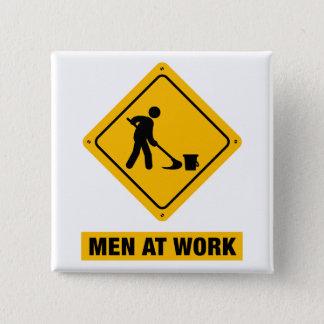 Janitor 15 Cm Square Badge
