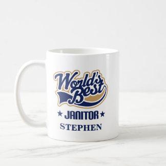 Janitor Personalized Mug Gift