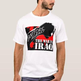 Janitors Against the War in Iraq T-Shirt