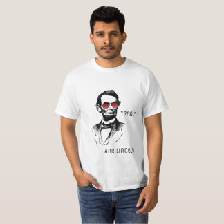 JANK PRODUCTIONS PROMO SHIRT. AbeBROham Lincoln T-Shirt