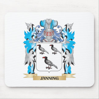 Janning Coat of Arms - Family Crest Mousepad