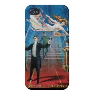 Jansen ~ The Great Vintage Magic Act iPhone 4 Covers