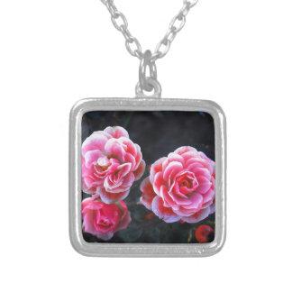 Januar Rosen Square Pendant Necklace