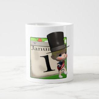 January 1 extra large mugs