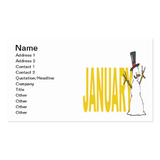 January 5 pack of standard business cards