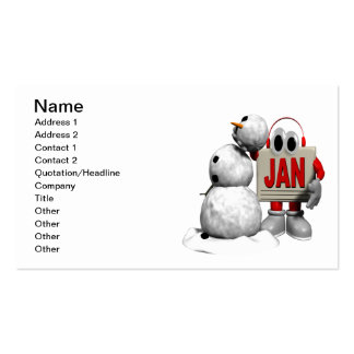 January 6 pack of standard business cards