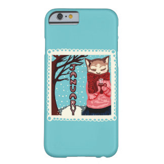 January Cat Art iPhone 6/6s Case