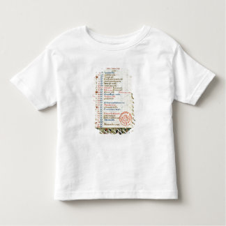 January; figures eating and drinking toddler T-Shirt