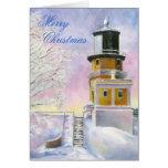 January Light Christmas Blank Card