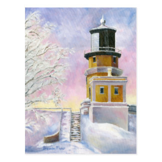 January Light Postcard