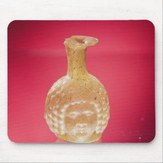 Janus head flask, 3rd century AD Mouse Pad