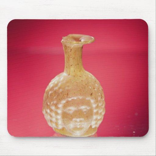 Janus head flask, 3rd century AD Mousepad