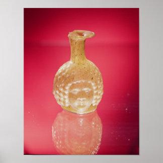 Janus head flask, 3rd century AD Poster