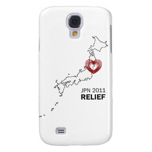 Japan 2011 Earthquake Tsunami Relief Galaxy S4 Cover