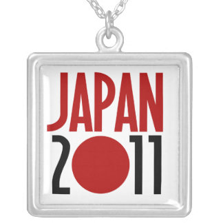 Japan 2011 personalized necklace