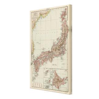 Japan 4 canvas print
