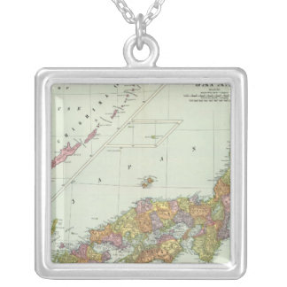 Japan 4 silver plated necklace