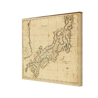 Japan 5 canvas print