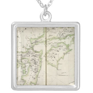 Japan, Asia 75 Silver Plated Necklace